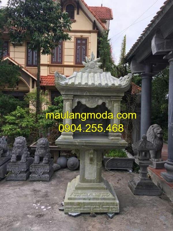 Một số mẫu bàn thờ thiên đang được ưa chuộng tại Ninh Vân