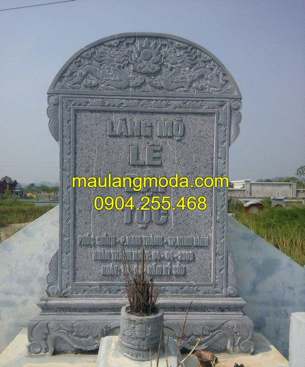 Mẫu bia mộ đá đẹp Hà Nội