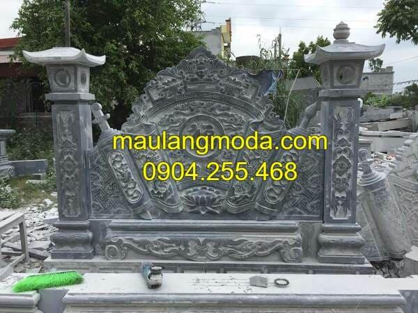 Mẫu bình phong đá nhà thờ họ đẹp nhất Việt Nam