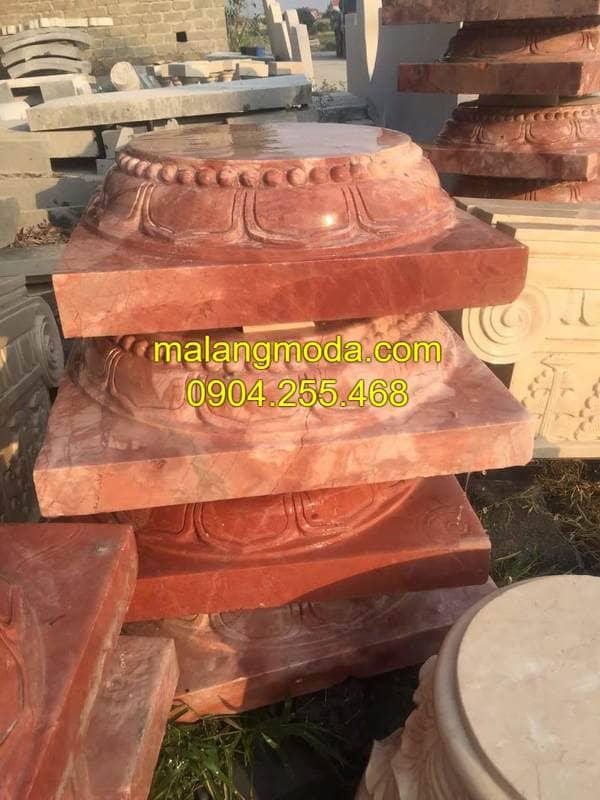 Mẫu chân cột đá đẹp nhất Ninh Vân