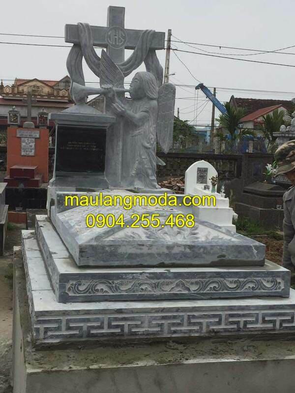 Lăng mộ đá công giáo tại Ninh Vân - Ninh Bình