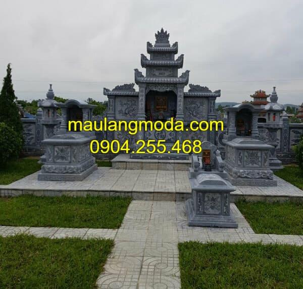Những mẫu lăng mộ đá đẹp nhất Việt Nam tại Ninh Vân