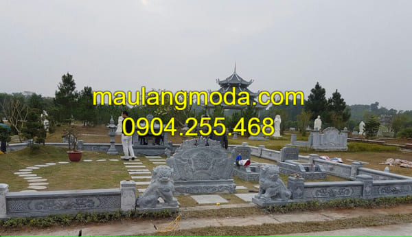 Những mẫu lăng mộ đá đẹp nhất Việt Nam tại Ninh Bình