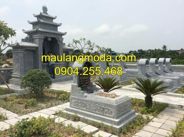 Mẫu lăng mộ đá đẹp nhất Ninh Vân