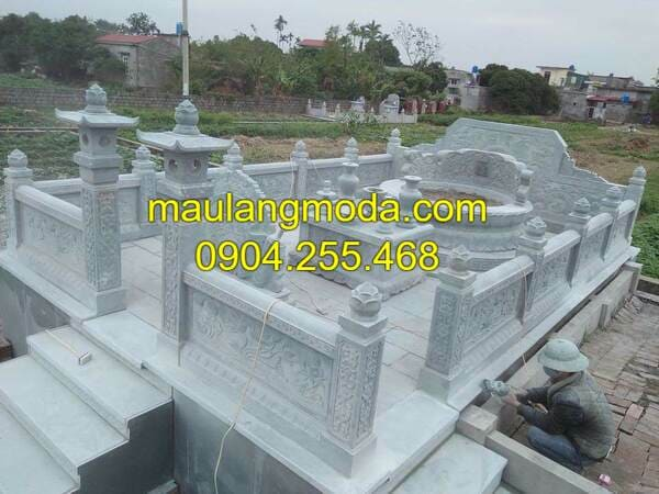 Những mẫu lăng mộ đá đẹp nhất Ninh Vân