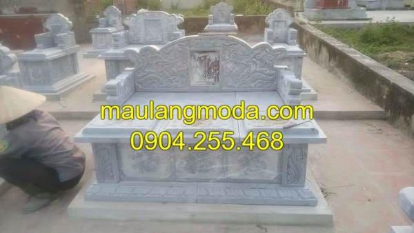 Một số mẫu lăng mộ đá đôi đẹp nhất Việt Nam