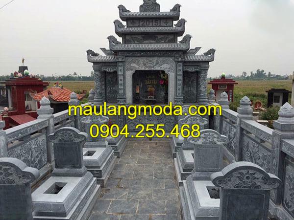 Địa chỉ xây dưng khu lăng mộ đá xanh uy tín
