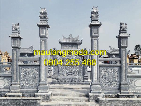 Những mẫu lăng mộ đá xanh đẹp nhất Việt Nam