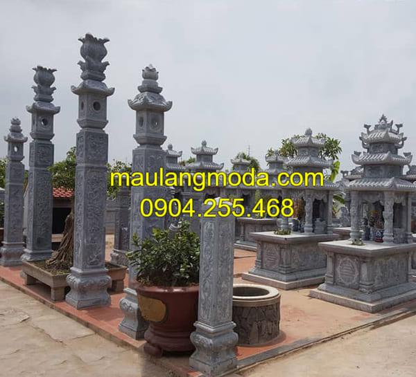 Những mẫu lăng mộ đơn giản đẹp tại Ninh Vân