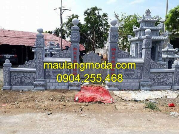 Thi công khu lăng mộ đá đẹp tại Ninh Bình