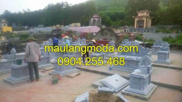 Thi công khu lăng mộ đá đẹp nhất Việt Nam