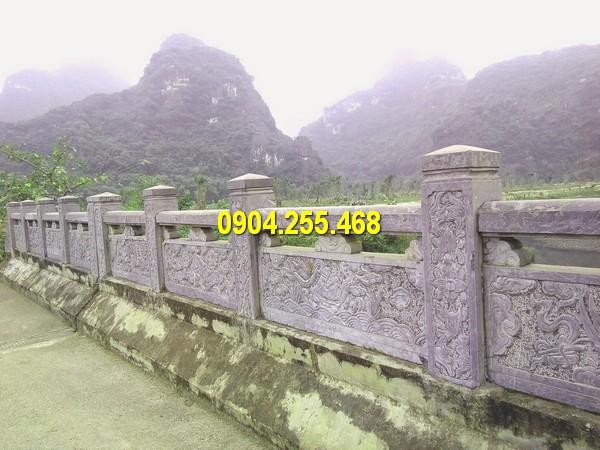 Thi công lan can bằng đá Hà Giang