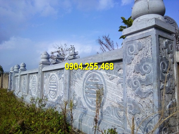Làm hàng rào bằng đá tại Hà Nội