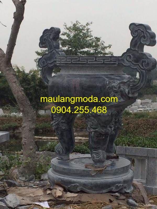 Hình ảnh lư hương đá đẹp tại Ninh Vân