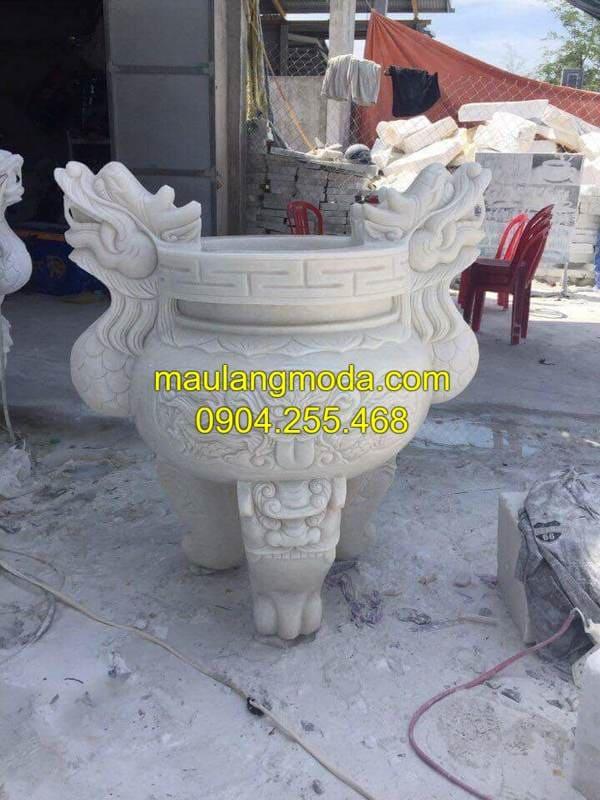 Mẫu lư hương đá đẹp tại Ninh Bình