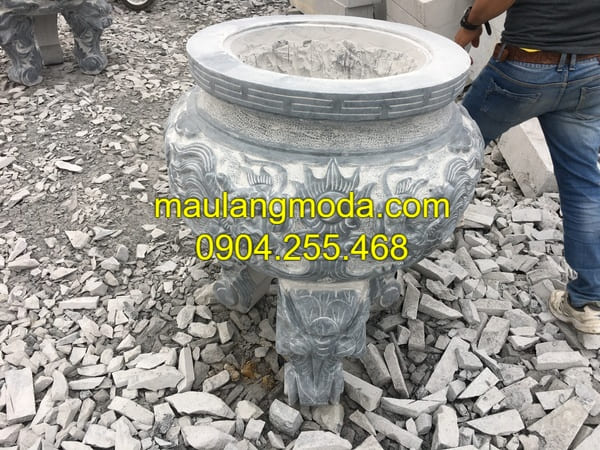 Lư hương đá đang được ưa chuộng