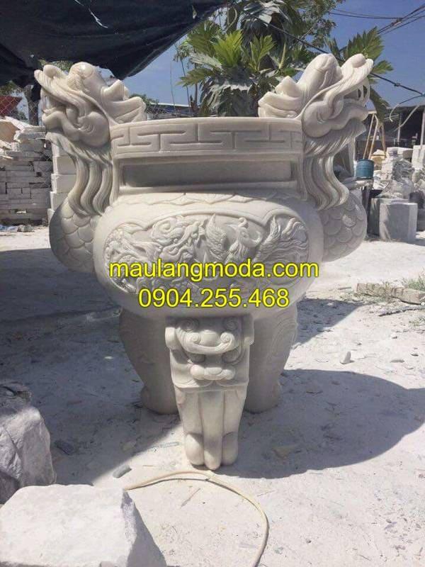 Lư hương đá đang được ưa chuộng tại Ninh Vân