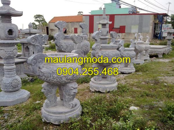 Lư hương đá đang được ưa chuộng tại Ninh Bính