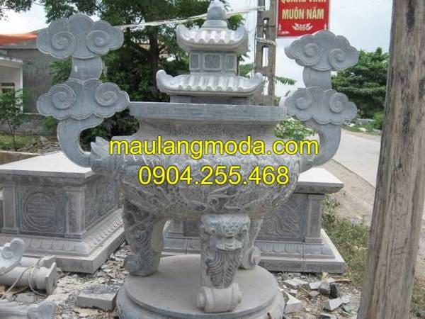 Tổng hợp các mẫu lư hương đá tròn đẹp nhất tại Ninh Vân