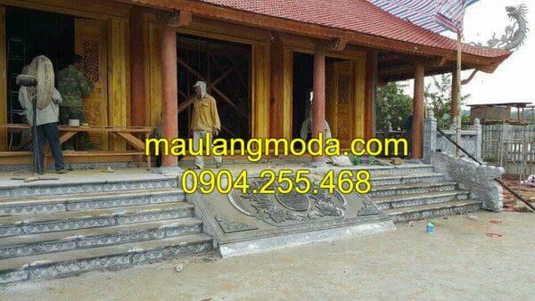 Hình ảnh nhà thờ họ đẹp tại Ninh Vân