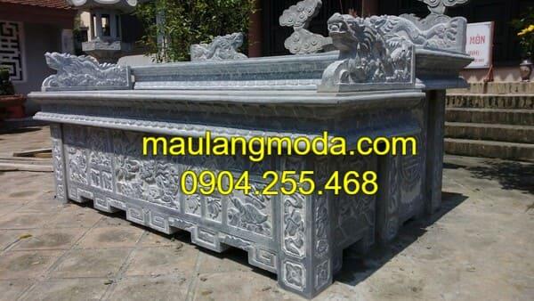 Những mẫu bàn lễ đá thờ được sử dụng nhiều nhất hiện nay