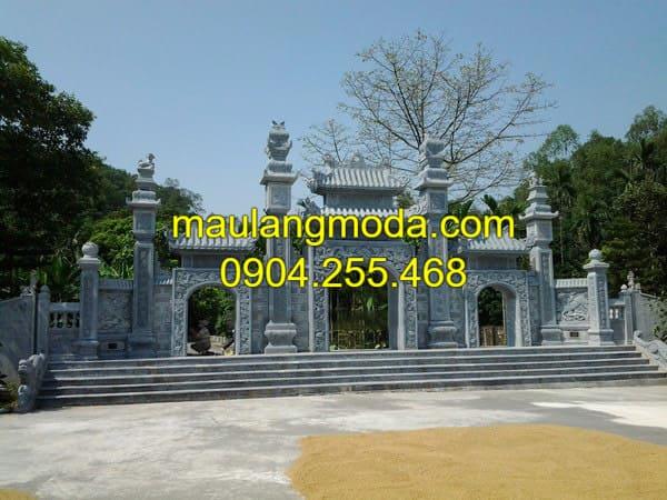 Ý nghĩa của cổng tam quan làm cổng chùa, cổng làng hay cổng đình