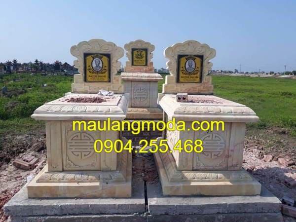 Địa chỉ thi công, lắp đặt các mẫu mộ xây uy tín tại Ninh Vân
