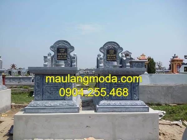 Các mẫu mộ xây đơn giản bằng đá đẹp nhất Ninh Vân - Ninh Bình