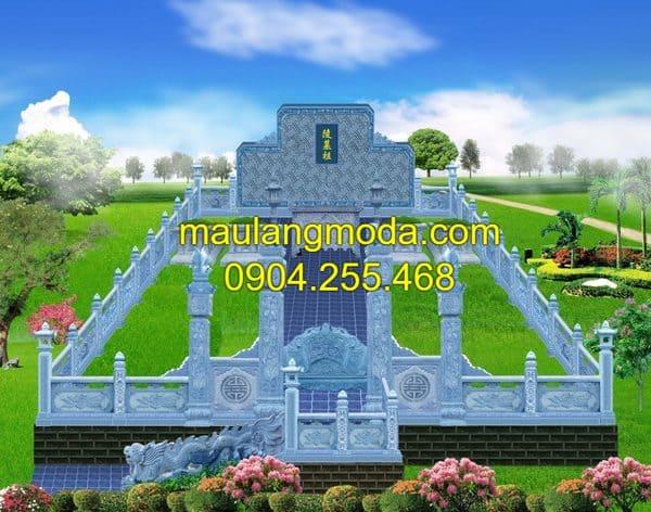 Mẫu thiết kế khu nghĩa trang gia đình đơn giản, đẹp