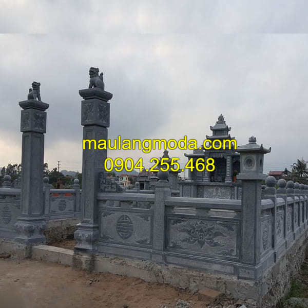 Mẫu khu lăng mộ gia đình đẹp, chuẩn theo phong thủy