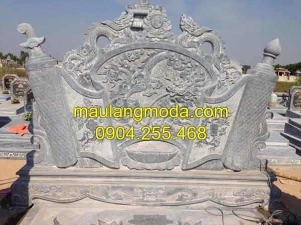 Mẫu cuốn thư đá đẹp tại Ninh Bình