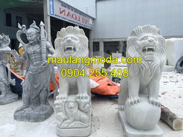 Bán sư tử đá tại Hà Nội giá rẻ nhất hiện nay