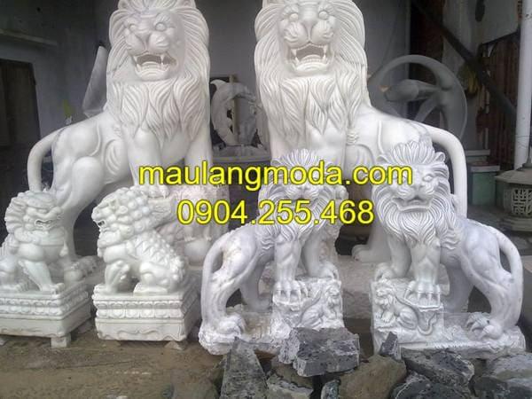 Mẫu sư tử đá đang được thịnh hành tại Hà Nội