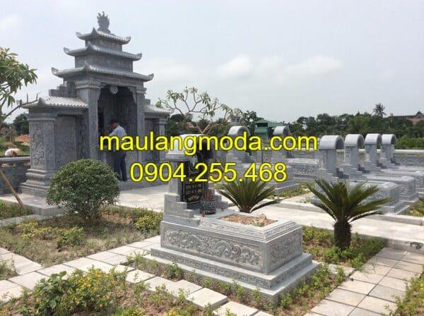 Hình ảnh mẫu nghĩa trang gia đình