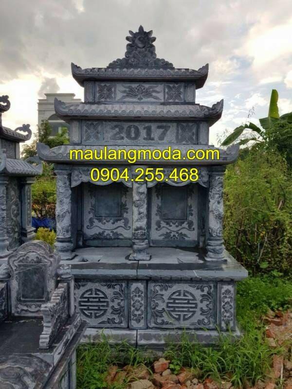 Những mẫu lăng mộ đá đôi được ưa chuộng tại Ninh Vân