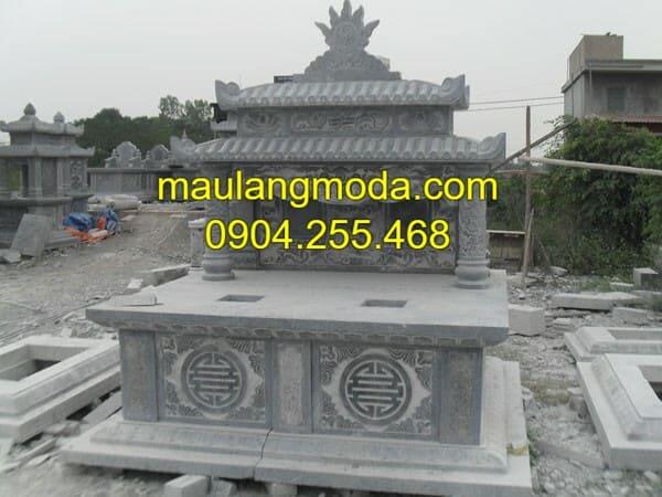 Mẫu lăng mộ bằng đá được ưa chuộng tại Ninh Vân