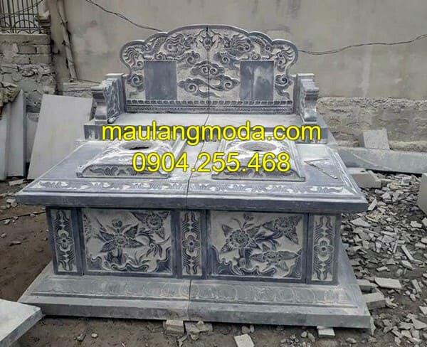 Mẫu lăng mộ bằng đá đẹp nhất Ninh Bình