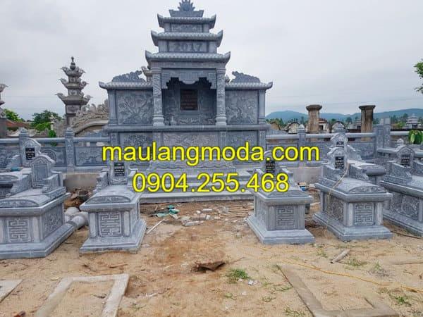 Địa chỉ xây mộ gia đình uy tín, chất lượng