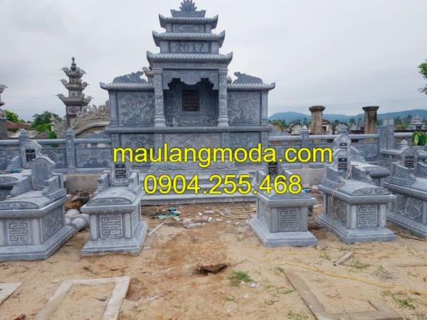 Địa chỉ thiết kế, xây dựng và lắp đặt khu lăng mộ đá gia đình uy tín, chất lượng