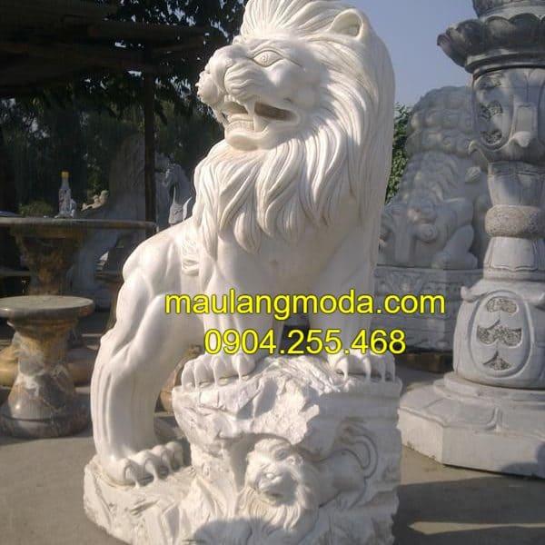 Địa chỉ bán tượng sư tử đá đẹp tại làng mỹ nghệ Ninh Vân