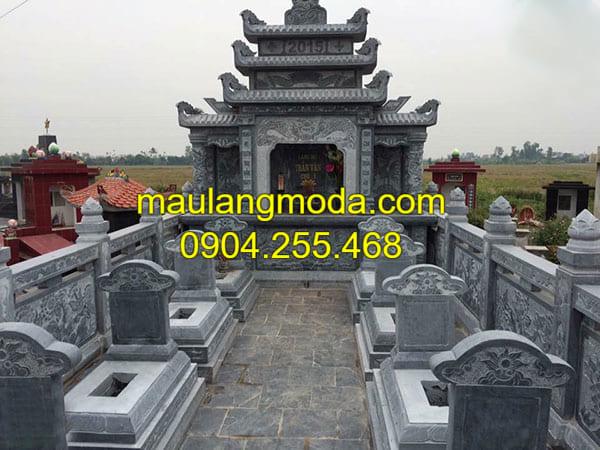 Khu lăng mộ đá cho gia đình đẹp tại Ninh Vân