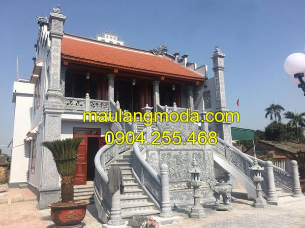Một số mẫu nhà thờ họ 3 gian bằng đá đẹp nhất Việt Nam