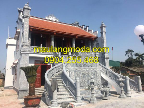 Mẫu nhà thờ họ đẹp tại Ninh Vân