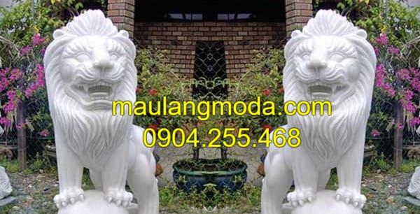 Hình tượng con sư tử đá