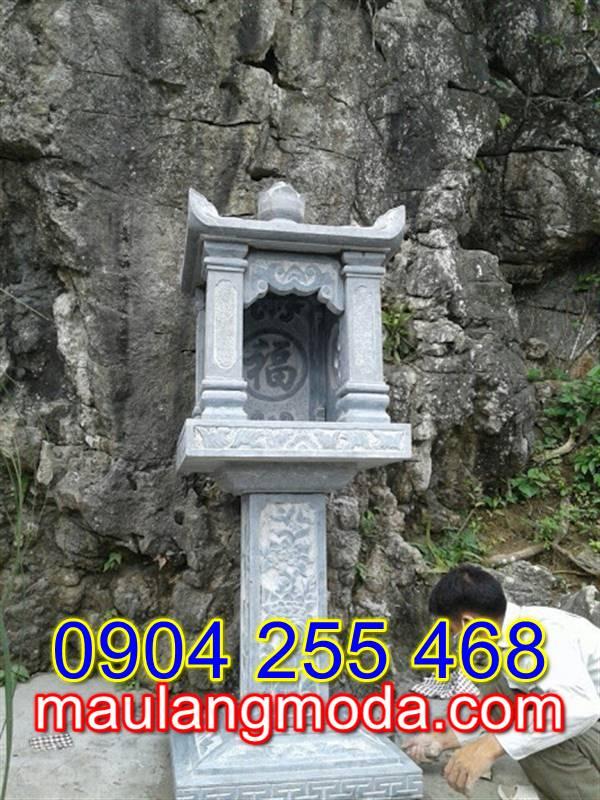 Mẫu miếu thờ bằng đá MT5, mẫu miếu thờ đá đẹp
