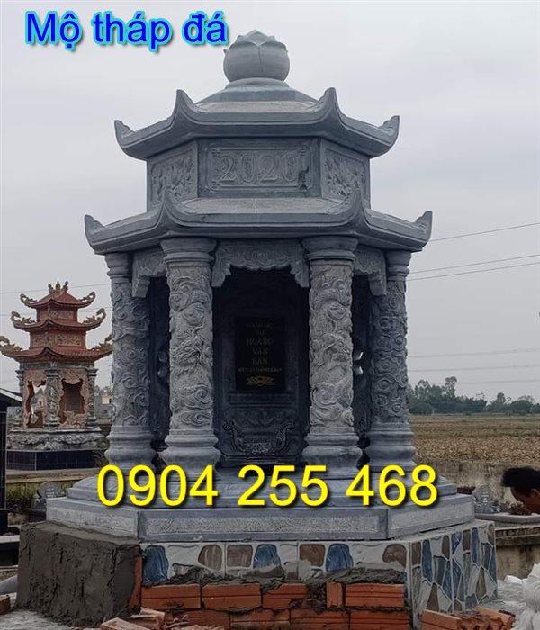 tháp để hài cốt 03,mộ đá hình tháp