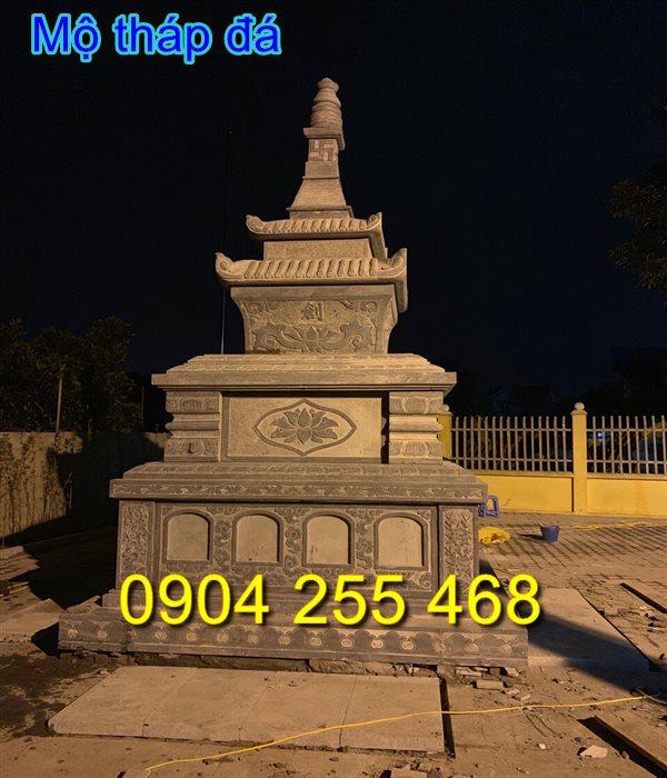 tháp mộ để hài cốt 35,mộ tháp bằng đá