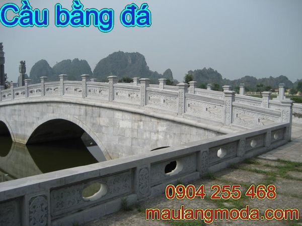 Cầu bằng đá đẹp