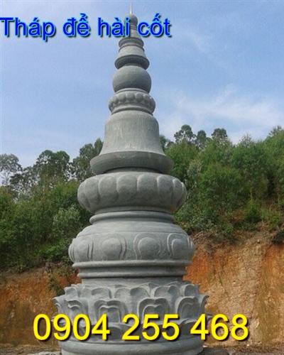 xây tháp mộ để hài cốt bằng đá