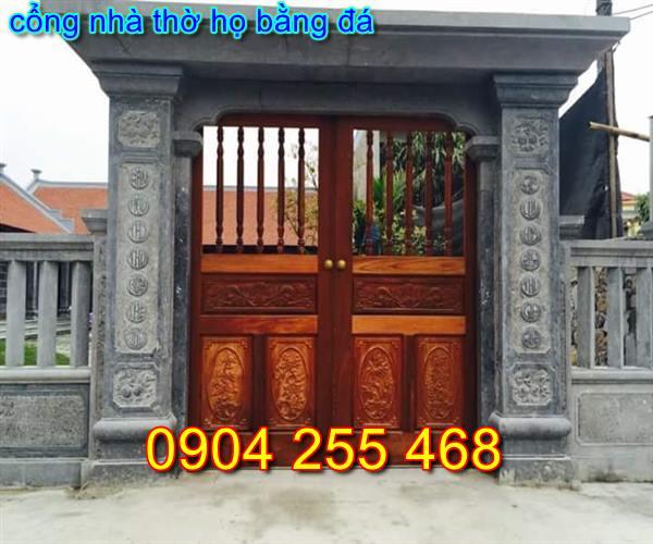 cổng nhà thờ họ bằng đá đẹp tại Hà Nội
